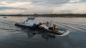 "Towing of ""Talas"" tug"