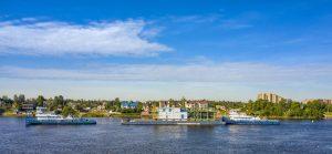 "Transportation of oversized modules on a pontoon ""SILVER-3003"""