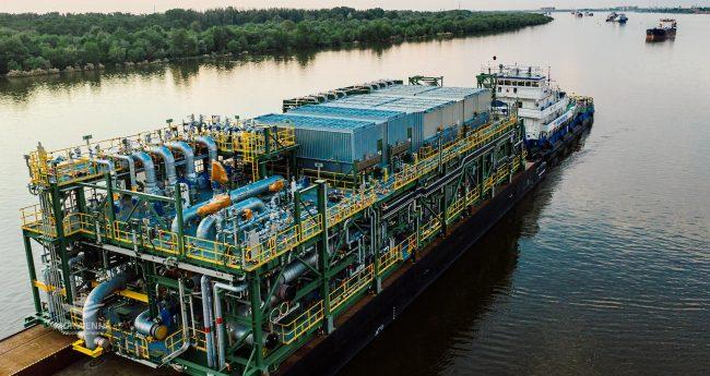 Серийная доставка модулей для нефтяного завода
